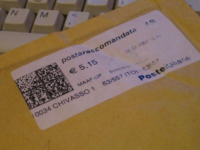 Avviso di raccomandata come capire se una multa for Poste italiane permesso di soggiorno