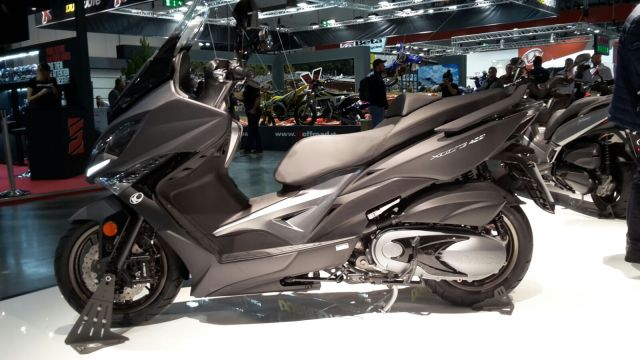 EICMA 2017, in anteprima arriva il Kymco Xciting S 400