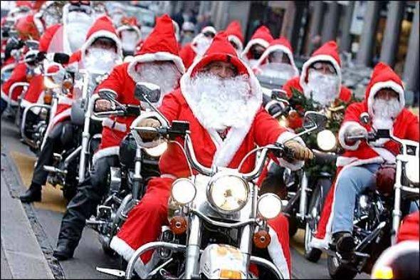 Immagini Babbo Natale In Moto.Babbo Natale In Moto 2017 Ecco Dove Trovarlo
