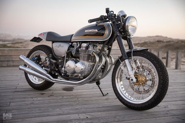 Honda CB500 Four by Ton-Up Garage: restauro in chiave sportiva