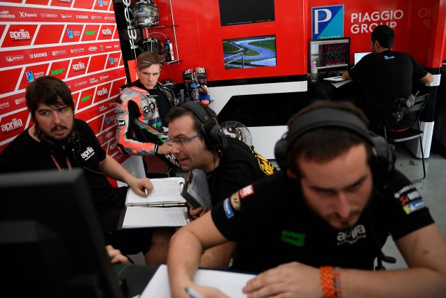 "MotoGP 2018, Redding: ""Punto alla top 6 con l'Aprilia RS-GP"""