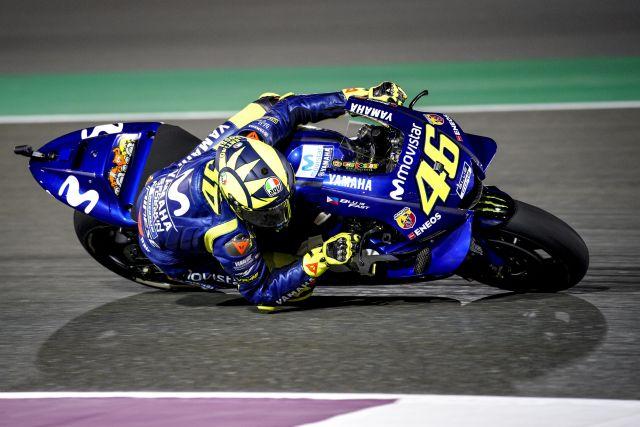 Motogp 2018 Qatar Valentino Rossi Grande Battaglia E Grande Gara