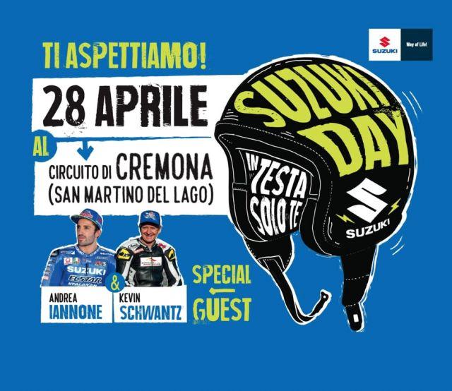 Suzuki Day, il 28 aprile sul Cremona Circuit