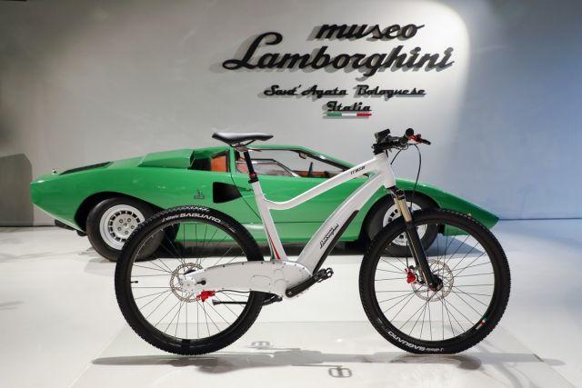 Lamborghini E Bike Il Toro Va A Pedali