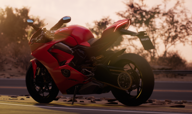 Ducati Panigale V4: regina del videogioco Ride 3 - Video