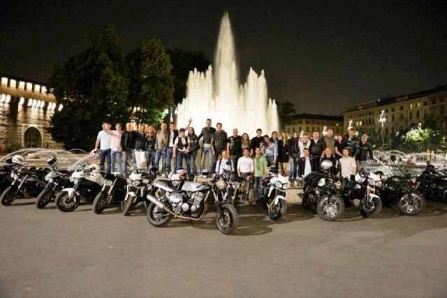 Via al  7° Triumph Milano City Tour