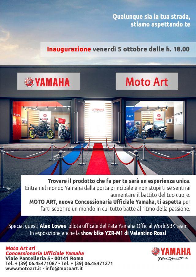 Roma Inaugurazione Il 5 Ottobre Del Nuovo Concessionario Yamaha