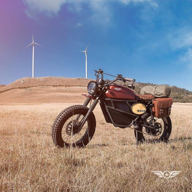 Smart Desert, scrambler elettrica by Fly Free