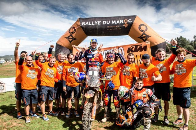 Toby Price vince Rally du Maroc e Campionato del mondo Cross-Country in un solo colpo