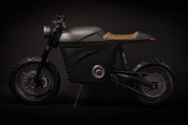 en vente en ligne code promo profiter du prix de liquidation Tarform, e-bike cafè racer stampata in 3D