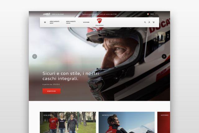 903808d74dac Ducati inaugura il nuovo shop online