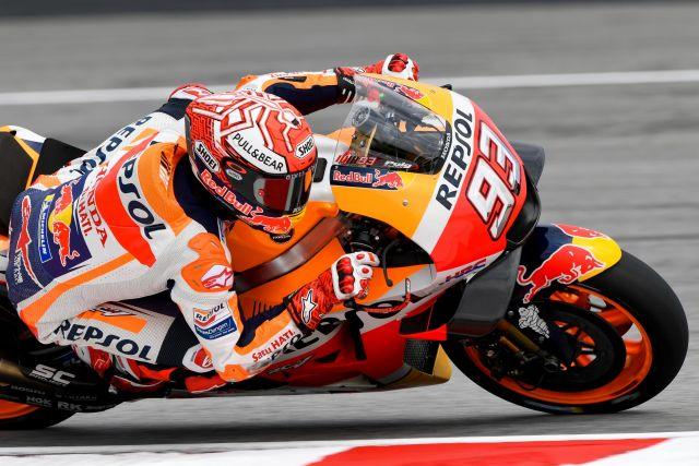 MotoGP Sepang Rossi, peccato: cade a 4 giri dalla fine.