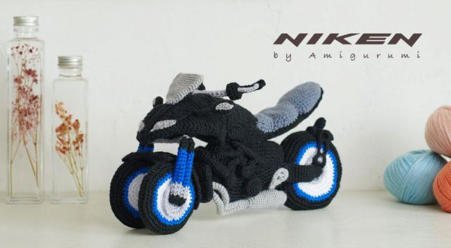 Yamaha, nuova Niken...all'uncinetto!