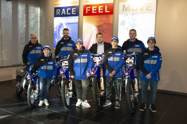 Yamaha, nasce l'MX Junior Team