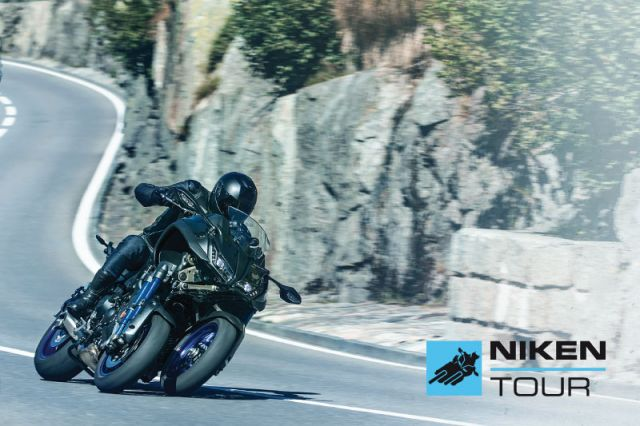 Yamaha Niken: tour con demo ride in tutta Italia