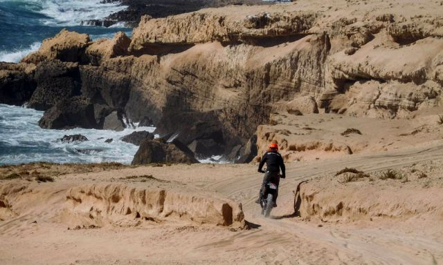 GSSS, Atlantic On-Off Road tour in Marocco
