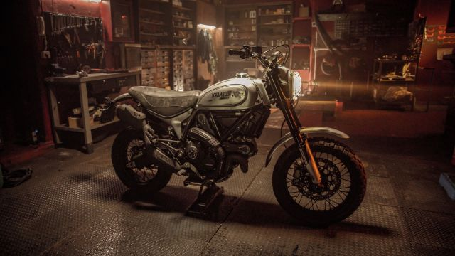 Una Scrambler Desert Sled customizzata per i giocatori di Days Gone