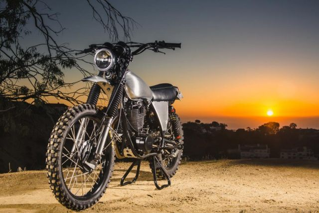 Yamaha XT500 diventa Urban Enduro con Ride Custom