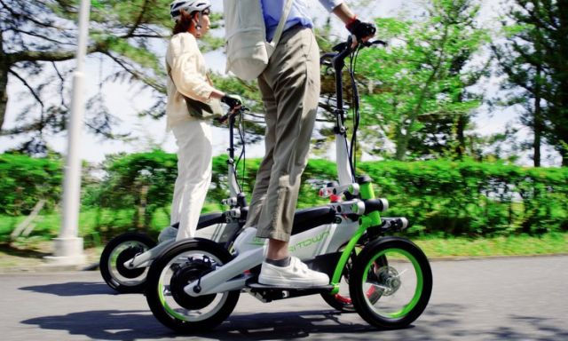 "Yamaha Tritown, via ai test ride per lo ""stand up scooter"" a tre ruote"