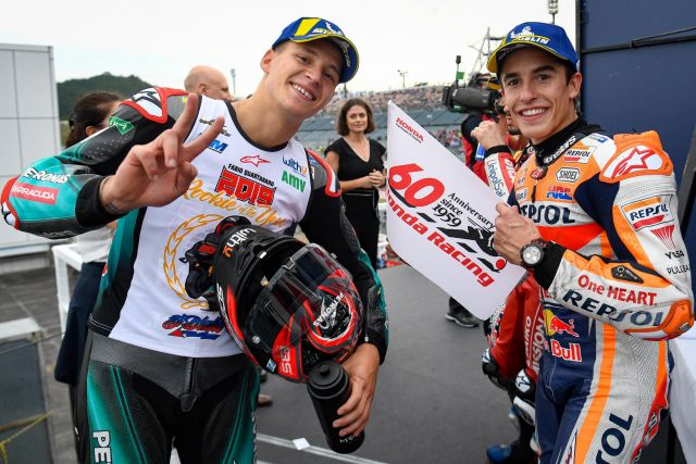 MotoGP, a Motegi dominio Marquez. Classifica campionato