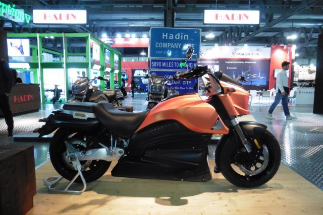 EICMA 2019 - Hadin Panther, sognando California