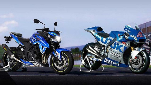 Suzuki GSX-S 750, una media da GP