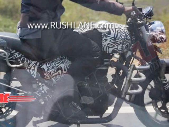 Royal Enfield, la Hunter prende forma?