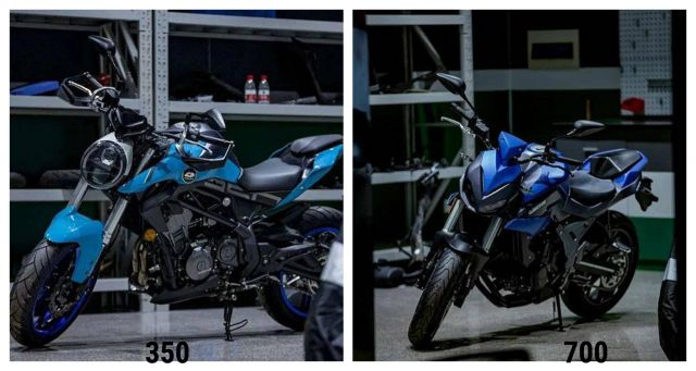 QJMotor, due nuove naked: saranno Benelli?