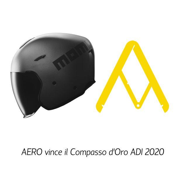 Il Compasso d'Oro a un casco Momodesign