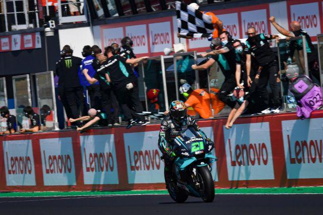 MotoGP, a Misano dominio Morbidelli. Classifica campionato