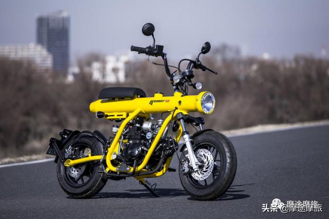 Gunner 50: minimoto made in Thailand