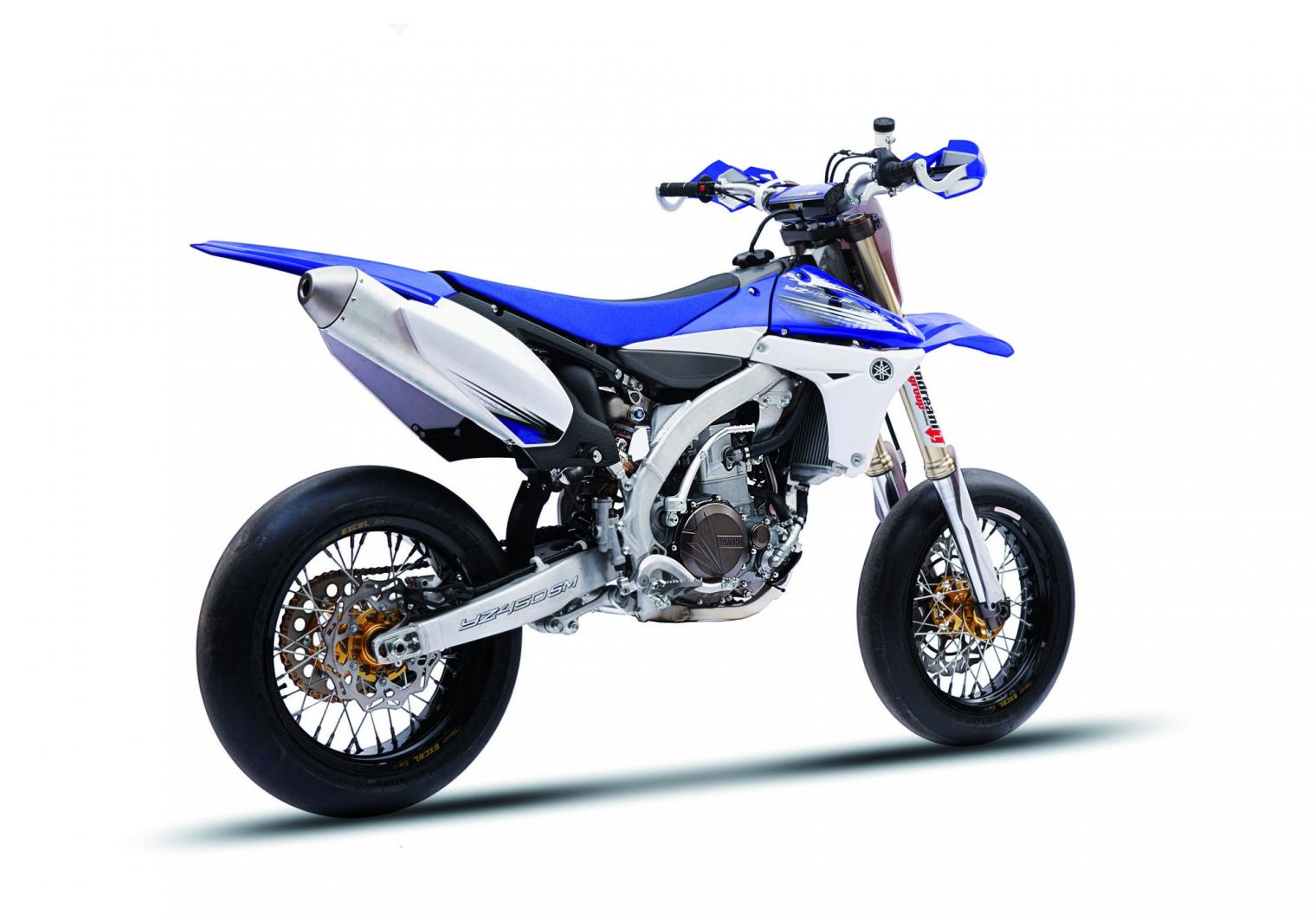 foto yamaha yamaha yz450sm raffinata motard da pista. Black Bedroom Furniture Sets. Home Design Ideas