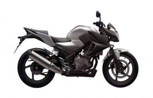 Foto Honda CB F Honda CB 300 F: foto della nuova piccola