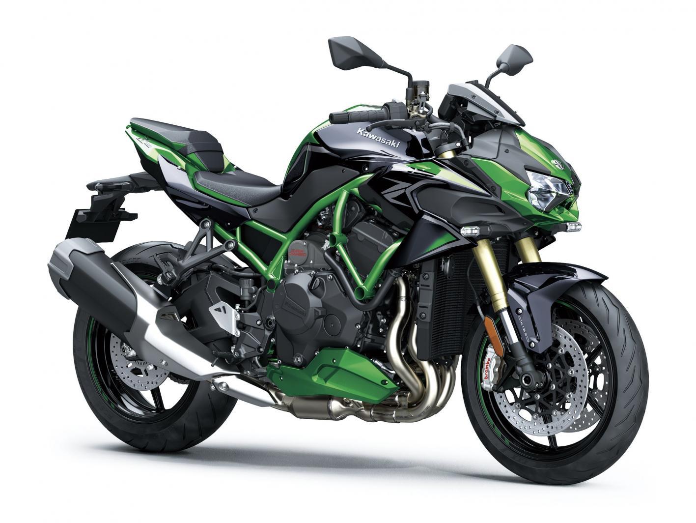 Kawasaki Z H2 SE 2021: la super naked è più elettronica