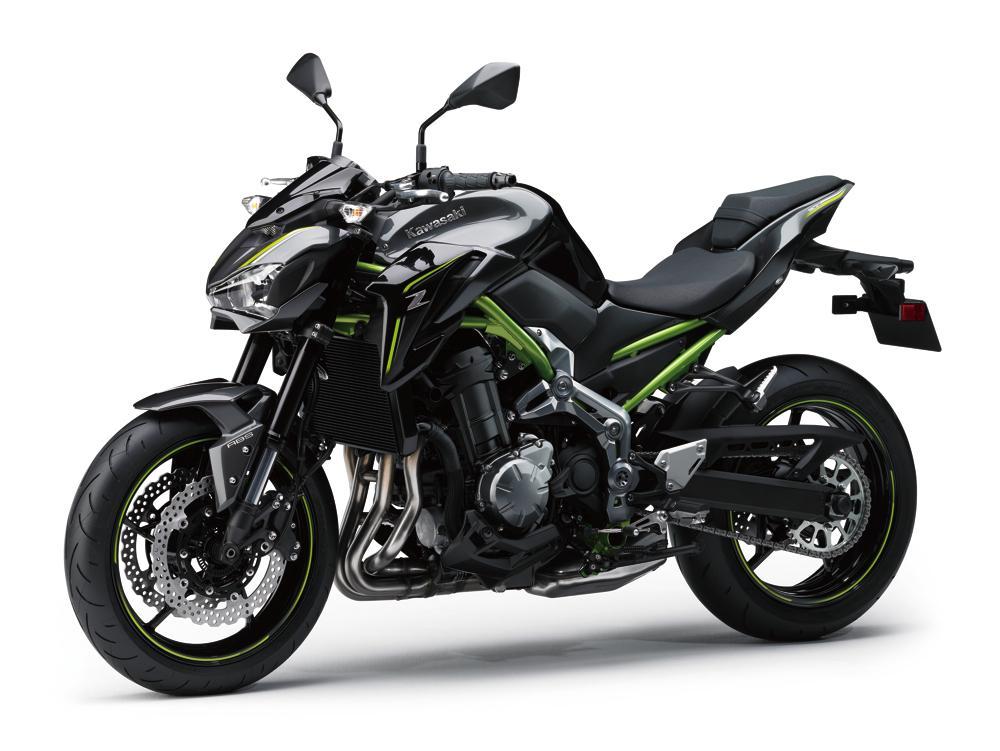 Naked Kawasaki Z900 2017 - moto 2017-2018-2019