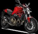 Ducati Monster 821 Stripe 48 CV 2015