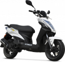 Kymco Agility 50 RS naked 2011